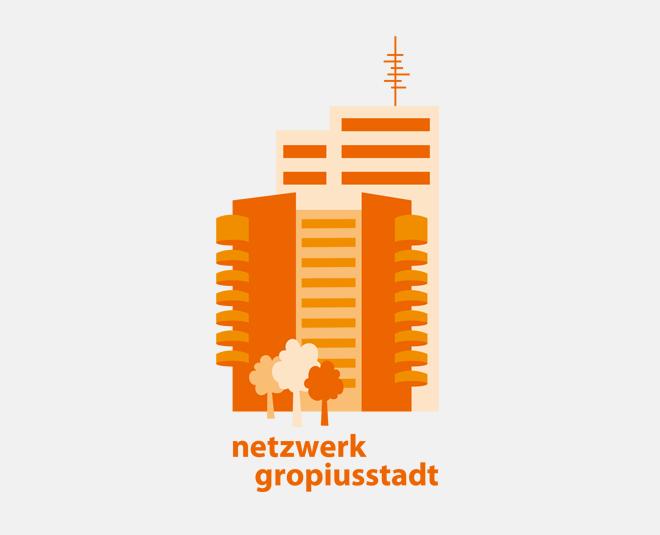 Logo Netzwerk Gropiusstadt