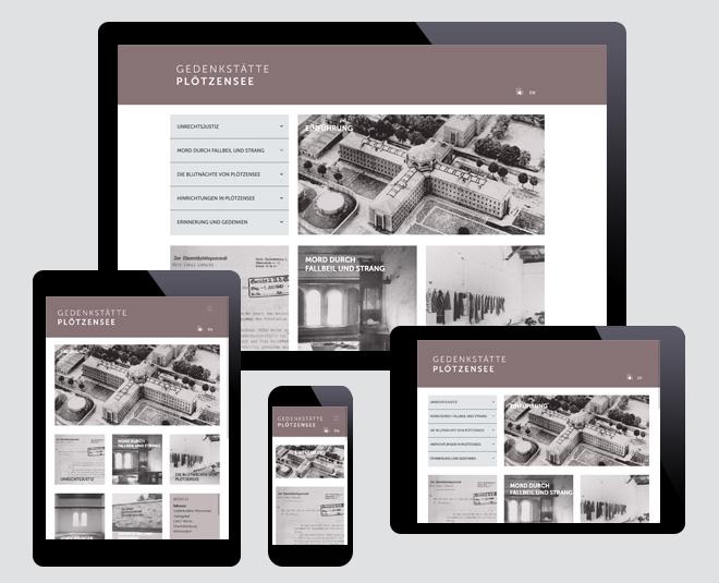 Website der Gedenkstätte Plötzensee